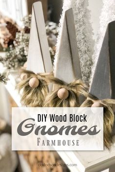 Wooden Christmas Crafts, Christmas Blocks, Christmas Signs, Diy Christmas Gifts, Christmas Projects, Holiday Crafts, Christmas Decorations, Winter Wood Crafts, Christmas Neighbor