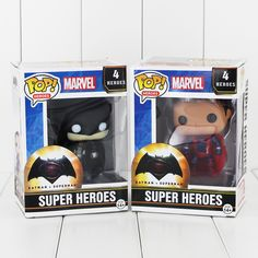 POP Heroes - Batman vs Superman //Price: $15.99 & FREE Shipping //     #BatmanFanShop