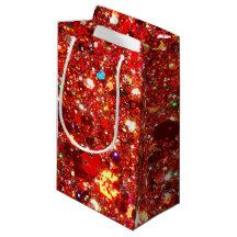 Glitter & Sparkles Gift Bag Small Gift Bag