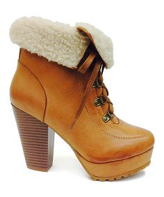 Another great find on #zulily! Bamboo Natural Huxley Bootie by Bamboo #zulilyfinds