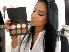 How I Contour & Highlight using the Anastasia Contour Kit