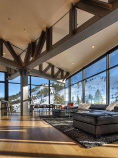 Modern Lake Tahoe Ski Home