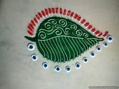 easy rangoli designs - YouTube