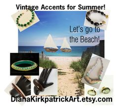 """""""Vintage Accents for Summer"""" by diana-32 ❤ liked on Polyvore featuring vintage"""