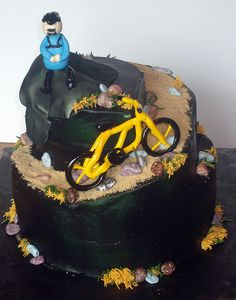 Mountain Bike Cake    http://www.fastbikeparts.ch/