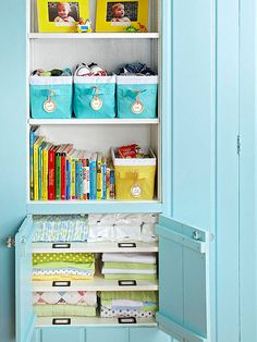 June Storage Projects: Kids' Rooms
