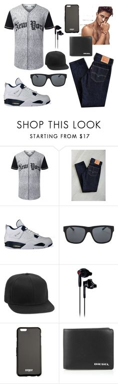 """Untitled #575"" by randombitch1996 ❤ liked on Polyvore featuring Levi's, NIKE, Orlebar Brown, Topman, Under Armour, Givenchy, Diesel, mens, men and men's wear"