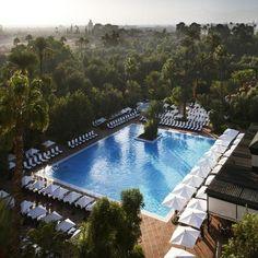 Hotel La Mamounia, Marakesz, Maroko