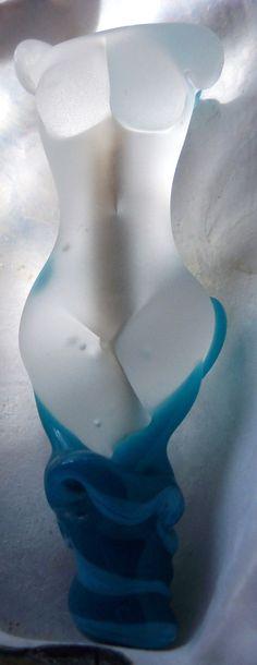 Glass Goddess Statue   Lampwork Goddess Bead by SilverByTheSea, £30.00