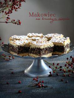 Makowiec na kruchym cieście – Zjem to! Tofu, Polish Recipes, Polish Food, Food Cakes, Fajitas, Nutella, Cake Recipes, Food And Drink, Posts