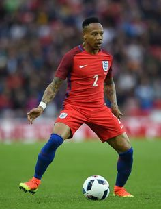 England's defender Nathaniel Clyne is pictured during the friendly football match between England and Australia at the Stadium of Light in Sunderland, north east England, on May 27, 2016. / AFP / PAUL ELLIS / NOT FOR MARKETING OR ADVERTISING USE / RESTRICTED TO EDITORIAL USE