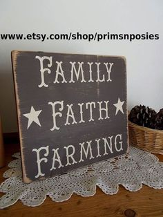 Family faith farming