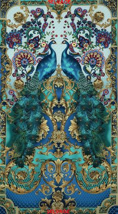 » 24″ Hyde Park Panel Timeless Treasures Fabric via TTFabrics.com in Soho, NYC / > How gorgeous is this?!?!!