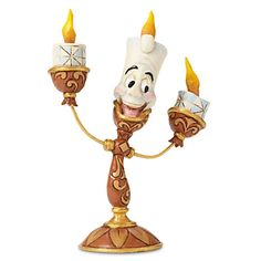 Lumiere ''Ooh La La'' Figure by Jim Shore - Beauty and the Beast | Disney Store