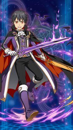 Kirito in halloween festival #sword_art_online_memory_defrag