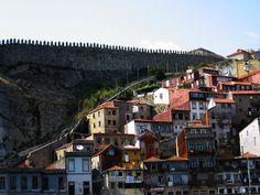 Aanblik op Porto