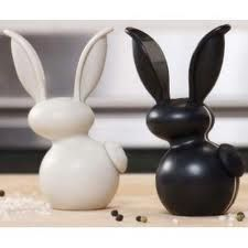 ♦::♦ Cute Bunny Item of the Week ♦::♦ Check out this adorable Salt & Pepper Set ! Cool Kitchen Gadgets, Cool Kitchens, Cute Bunny, Cutest Bunnies, Kitchen Helper, Bed In A Bag, Salt And Pepper Set, Cuisines Design, Dorm Bedding