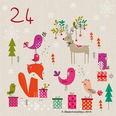 Mademoiselleyo: Advent calendar 23,24