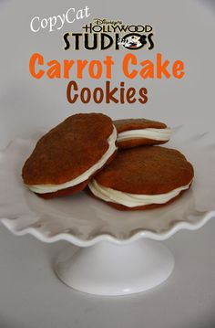 Disney Hollywood Studios Carrot Cake Cookie Copycat Recipe