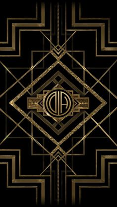 Get your The Great Gatsby monogram mobile wallpaper from http://apps.warnerbros.com/greatgatsby/monogramcreator/us/