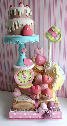 Breakfast #Cake #Cakedesign