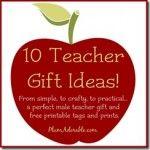 Ten teacher gift Ideas...especially love the towel idea!