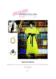 JALOUSE MAI 2013 PARUTION #Esthervina1950