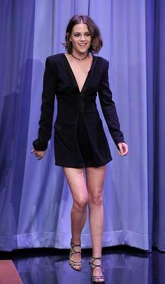 Kristen Stewart wearing DVF. Love it, get the look for lesss