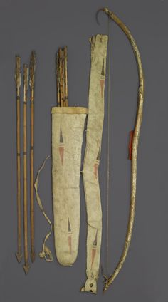 Yankton bowcase quiver pre 1830, from Dr. Jarvis, Ft. Snelling.  Brooklyn Mus  ac