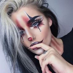 "35 Likes, 1 Comments - Halloween Makeup (@queensofhalloween) on Instagram: ""New Account! Follow for Halloween 2017 Inspo . . . . . . . . .…"""