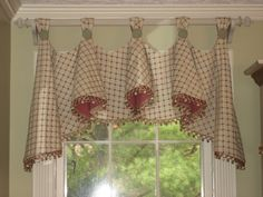 country charm window treatment
