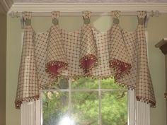 country charm window treatment