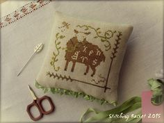 "Prim Sheep ""Spring"" 