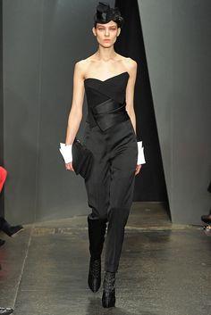 Donna Karan Fall 2012 Ready-to-Wear Fashion Show - Kati Nescher