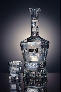 ♂ Creative Package Design - Elegant looking image Kurant Vodka