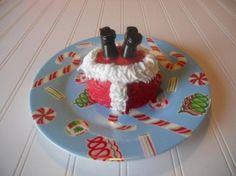 Christmas Santa Cupcakes