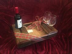 Hand Polished Wine Pairing Tray