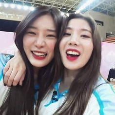 BiAn = Eunbi + Sian I miss then Online Friends, Golden Child, Nanami, Kpop, First Baby, Loving U, Girl Crushes, Kdrama, Friendship
