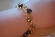 Gold Link Bracelet DIY | My Girlish Whims