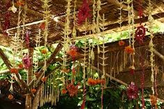 coconut leaf decorations - Google Search