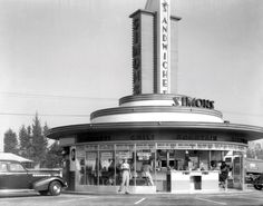 Simon's at Wilshire and Fairfax, Los Angeles, 1950´s
