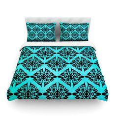 "Pom Graphic Design ""Eye Symmetry Pattern"" Cotton Duvet 