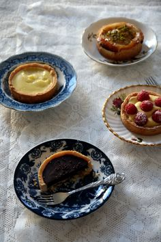 Tartelettes from the French patissiere   Yellow Lemon Tree