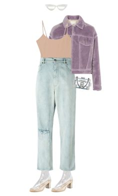 """""""#526"""" by moofka ❤ liked on Polyvore featuring Maison Margiela, 3.1 Phillip Lim, Alix, Golden Goose and Chanel"""