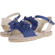 C Label Cider-5 Women's Sandals, Blue ($33) ❤ liked on Polyvore