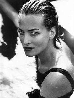 Tatjana Patitz, photo by Peter Lindbergh, 1992
