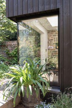 Steel window frame. Garden Studio by MW Architects   Remodelista