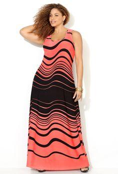 Shop Plus Size Maxi Dresses | Avenue.com