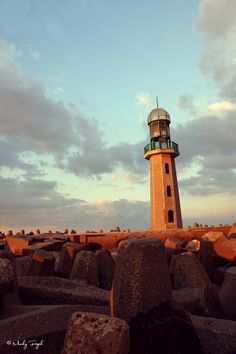 Ras El-Bar Lighthouse by Moody  Fayed on 500px