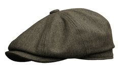 1920s Mens Hats – 8 Popular Styles  Newsboy Gatsby Ivy Cap Golf Cabbie Driving Hat $35.00 AT vintagedancer.com